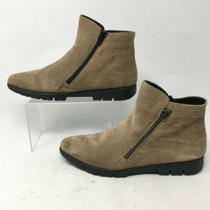 The FLEXX Womens 9 Side Zip Ankle Boots Casual Com